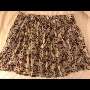 Double Agent Floral Skirt